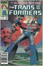 THE TRANSFORMERS #1 Marvel Comics 1984 Copper Age Key Issue Of Limited Series NM