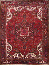 Area Rugs Magnificent Brick Red Traditional Floral Kaashaan Persian Area Rug Wool 8x12ft