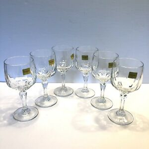 Luminarc Verriere d'Arques Wine Sherry Aperitif Glasses 5.5 oz Set of 6 France