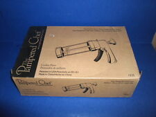 The Pampered Chef Cookie Press #1525 w/16 disks~Original Box& Directions~Unused