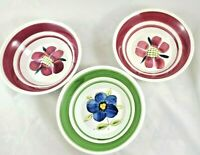 Vintage Floral Soup/Cereal Bowls Made in Japan