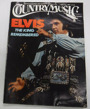 Country Music Magazine Elvis Presley Rise Of Rock December 1977 081715R