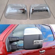 For 2017 2018 2019 2020 2021 Ford F250 F350 Top Half Chrome Mirror Covers