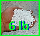 6 lb White Heavy Plastic Poly Pellets Washable Dryable Free Shipping USA Made