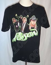 I was Poison'd June 7, 2008 Solvesborg, SWE Poison Tour T-shirt size Large