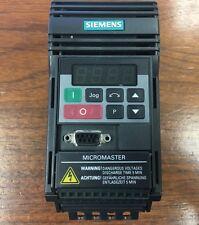 SIEMENS 2.30A 0-400HZ MICROMASTER INVERTER AC DRIVE 6SE9212-1CA40