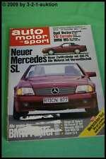 AMS Auto Motor Sport 18/88 Porsche 944 DB SL BMW M5 Saab 9000 CD