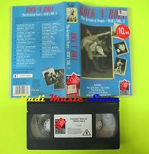VHS ROCK N ROLL The greatesr years 1950's vol.2LITTLE RICHARD ELVIS cd mc (VM7)