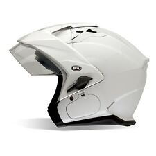 Bell Pearl White Mag-9 Sena Motorcycle Helmet Adult size Large