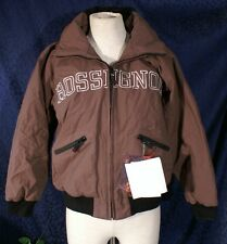 New Medium Brown ROSSIGNOL JIBBER Hooded Ski Jacket Sz 12