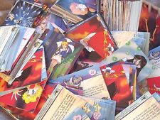 50 RANDOM SAILOR MOON SERIES 3 DART TRADING CARDS FROM 2000