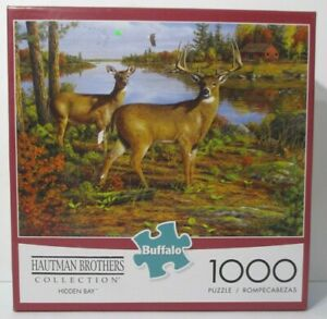 Hautman Brothers Hidden Bay 1000 piece Jigsaw Puzzle