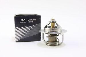 ** New Hyundai OEM 2550022600 00-02 Accent 1.5L-L4 Radiator Thermostat