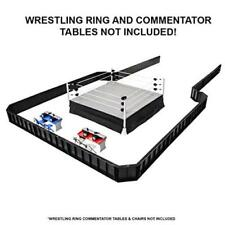 Ultimate Wrestling Ring Barricade Playset For Wwe Wrestling Action Figures Toy