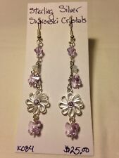 Handmade Jewelry one of a kind unique sterling silver Swarovski Crystals