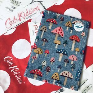 Genuine CATH KIDSTON Toadstool Mushroom Passport Case Cover ~ BNWT + Gift Bag