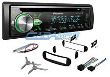 NEW PIONEER CAR STEREO RADIO RECEIVER DECK W BLUETOOTH W INSTALL KIT FOR VW BUG