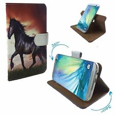 Mobile Phone Book Cover Case For Doogee X10 - Horse Pony L