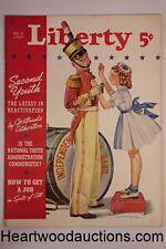 Liberty Jul 8, 1939, King George VI, development of televison