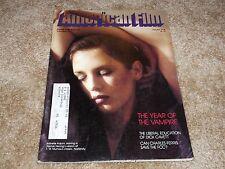 AMERICAN FILM (OCT '78) NOSFERATU - Isabelle Adjani Cover - FRANK CAPRA - CAVETT