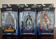 Marvel Legends HEIMDALL VALKYRIE IRON MAN Set Avengers Endgame Thor BAF Wave