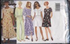 Butterick 4820 Sewing Pattern Misses' Dresses & Jumpsuit Sizes XS S M 6-14 UC