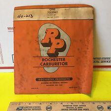 General Motors products Rochester carburetor kit, 7009941.  Item:  6730