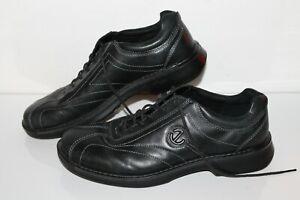 ECCO Casual Oxford, Black, Leather, Men's US Size 10.5, EU 44