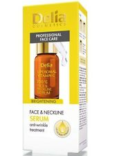 DELIA COMSETICS FACE AND NECKLINE BRIGHTENING SERUM WITH VITAMIN C