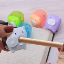 1pc Cute Pencil Mini Pig Animal Sharpener Stationery For School Student Kid Gift