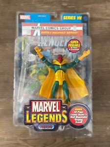 Marvel Legends Vision Wave VII NIB Toybiz