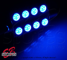 Set of 2pc Blue Dome Light Festoom 8 SMD LED Bulbs 6451 561 563 - 39mm 1 Pair