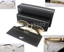 2ca08052a7 NWOT Montblanc MB399 Eyeglasses frame gold 54mm