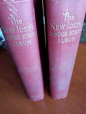 ALBUM PER FRANCOBOLLI 2 volumi A-Z STANLEY GIBBONS 1936