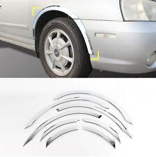 Chrome Wheel Fender Lip Cover Guard Molding Trim 8Pcs For HYUNDAI 01-06 Elantra