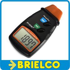 TACOMETRO DIGITAL 5 DIGITOS CON LASER MEDIDOR CUENTA REVOLUCIONES MOTORES BD9311