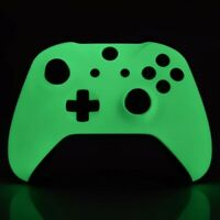 Xbox One Shell - Microsoft Xbox One Controller Soft Shell - Glow In The Dark