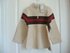Gymboree HOLIDAY EXPRESS Beige Brown Red Zip Top Box Size 6 NWT - Fall Winter