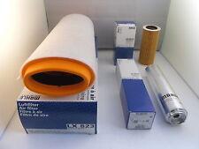 BMW 5 Series 520d 2.0 Diesel Service Kit Oil Air Fuel Filter 05-10 OE MAHLE (1)