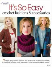 It's So Easy: Crochet Fashions & Accessories by Annie's (English) Paperback Book