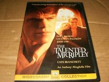 The Talented Mr. Ripley (Dvd, 2000, Sensormatic) Used.