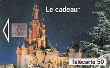 France télécarte 50 Euro Disney  Le cadeau