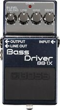 NEW BOSS BB-1X  Bass Driver Pedal  FREE Priority Mail+Patch Cable
