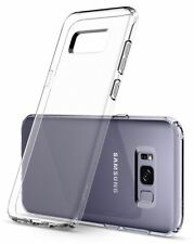 Samsung Galaxy S8 Get 1 free when you buy 1 TPU Gel Jelly Skin Case Cover Clear