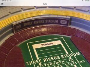 ORIGINAL 1971  PROMO PITTSBURGH  STEELERS  THREE RIVERS STADIUM-A.J. DIGIAOBBE