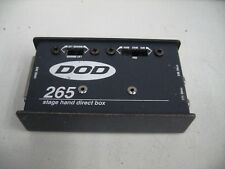 "DOD 265 Stage Hand Direct Box 1/4"" to XLR"