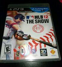 MLB 12 SHOW PS3 PAL EUR PARI NUOVO COMPLETO DISCO VERGINE LEGGERE TUTTO