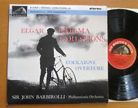 ASD 548 Elgar Enigma Variations Cockaigne Barbirolli HMV Stereo Semi-Circle EX
