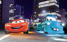 CARS MOVIE POSTER 2 - A3 SIZE 297x420mm - FAST SHIPPING FROM UK Lighting Mcqueen