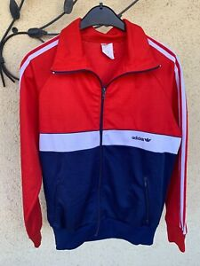 Adidas Freizeitjacke Gr. 5 Made in Western Germany Top Zustand Vintage Training